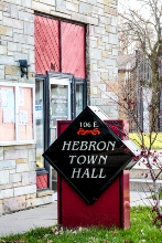Hebron, Indiana town hall