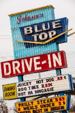 Highland, Indiana Blue Top Drive In