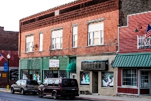 downtown Lowell, Indiana