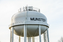 Munster, Indiana water tower