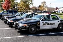 St. John, Indiana police cars