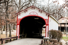 Crown Point, Indiana covered bridge